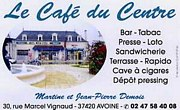 Café du centre Avoine