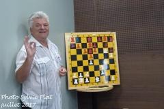 Chess café avec Damir